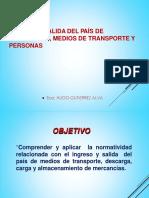 2.-Ingreso y Salida de Mcia Manifiesto