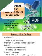 P04 P Regulation OfCGTPinMalaysia AzizahAbGhani