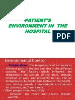 patient environment