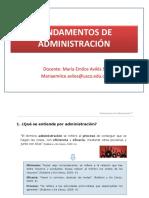Emilce Aviles-Fundamentos Admon 2019-1- Estudiantes Ingenieria.pptx