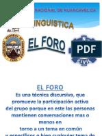 EL FORO PARA EXPOCICIÓN