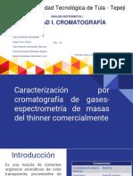 Cromatografía de Gases-espectrometría