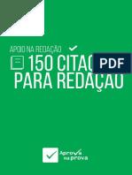 150 Citações Para Usar Na Redação