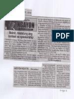 Ngayon, May 27, 2019, Mainit madatung ang contest sa speakership.pdf