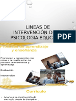 LINEAS DE INTERVENCION DE LA PSIC. EDUC. tema 1.pptx