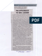 Philippine Daily Inquirer, May 27, 2019, PDI Apologizes to Sen. Lacson.pdf