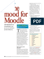 Moodle tutorial