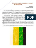 La Degradacion Del Color Estudio Estadistico y Ensayo de Tipificacion (1)