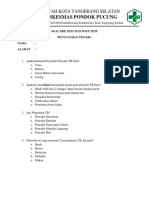 Soal Pre Test Dan Post Test Penyuluhan Tb