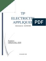 TP Electricité Appliqué