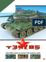AFV Modeller - Issue 11 - 5 - T34-85