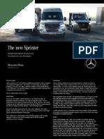 Sprinter Brochure