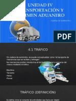 Unidad IV Transportación y Régimen Aduanero