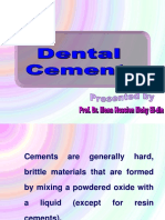 01_Introduction to Dental Cements