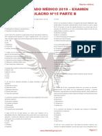RM 19 - Examen Simulacro 15 B