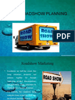 Event Roadshow Planning