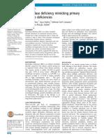 Biotinidase Deficiency Mimicking PID
