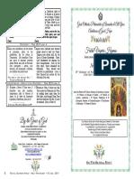 2019-16 June- Vespers - Pentecost