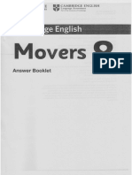 Movers 08 AnswerBooklet