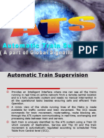 Automatic train supervision systems