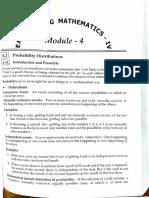 Maths(4) Module 4