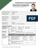 170123 Velg Training Plan for Supervision Arrangement Template V1.2 (1)