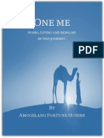 One Me - Doing, Living and Being Me in This Journey by Amogelang Fortune Modibe