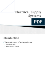 3. Electrical Supply Systems