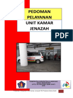 Cover_daftar Isi Pelayanan Unit Kamar Jenajah