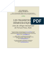 Transitions Democratiques