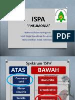 ISPA Pneumonia Sumenep 5 Des 2016.ppt