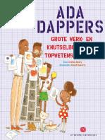Ada Dappers grote werk- en knutselboek voor topwetenschappers - Beaty & Roberts (leesfragment)