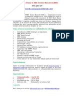 International Journal of BRIC Business Research (IJBBR)