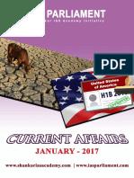 Current Affairs - Jan - 2017 - Shankar IAS