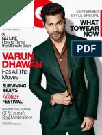 Gq Magazine September 2015 In