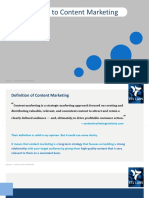 Introduction to Content Marketing