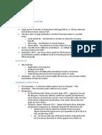 Admin Law (Revision)