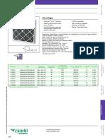 Camfil Air Filter- Carbon, G3,G4