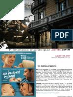 FILMOTECA de Coslada / Programación Junio 2019