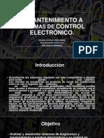 Exposicion de Manteniento Electrico Electronico