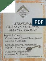 Stendal, Flober, Prust - Ingrid Šafranek
