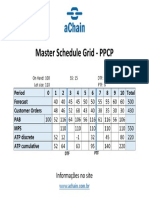 PPCP, MRP e Otimização de Estoques – 3 cursos em 1! Informações no site www.achain.com.br