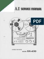 Akai GX 620 Service Manual