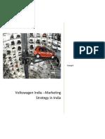 Product Mix of Volkswagen