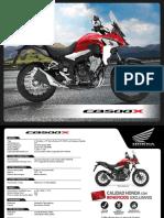 Ficha Honda CB500X