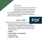 Matriz Bcg & Ge