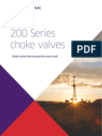 200 Series Choke Valves