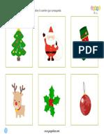 Encuentra La Sombra Navidad Juegoideas.com