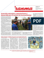 G_2019052509. Diario Granma. 25 demayo de 2019.