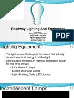 Roadway Lighting and Equipment